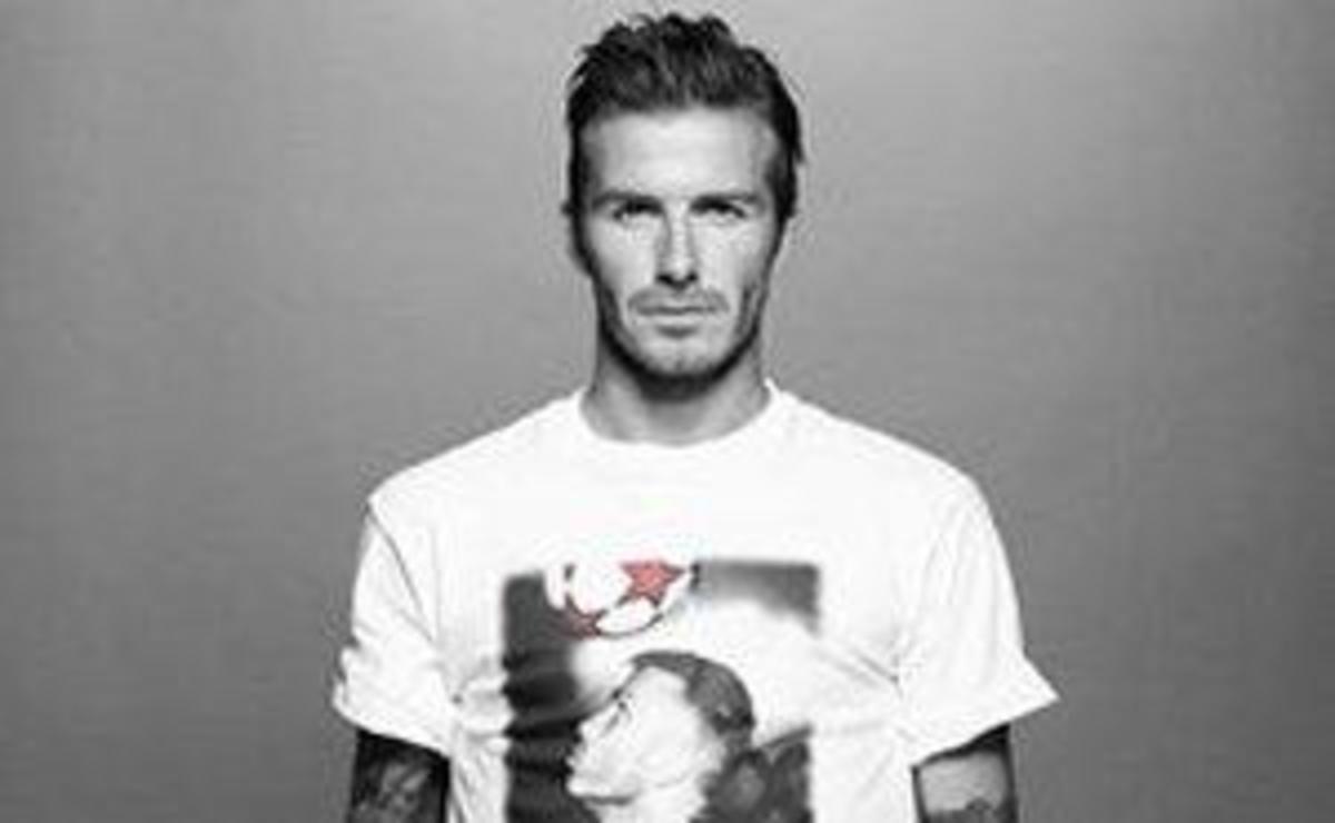 Beckhams: Σχεδίασαν μπλουζάκια για φιλανθρωπικό σκοπό! | Newsit.gr