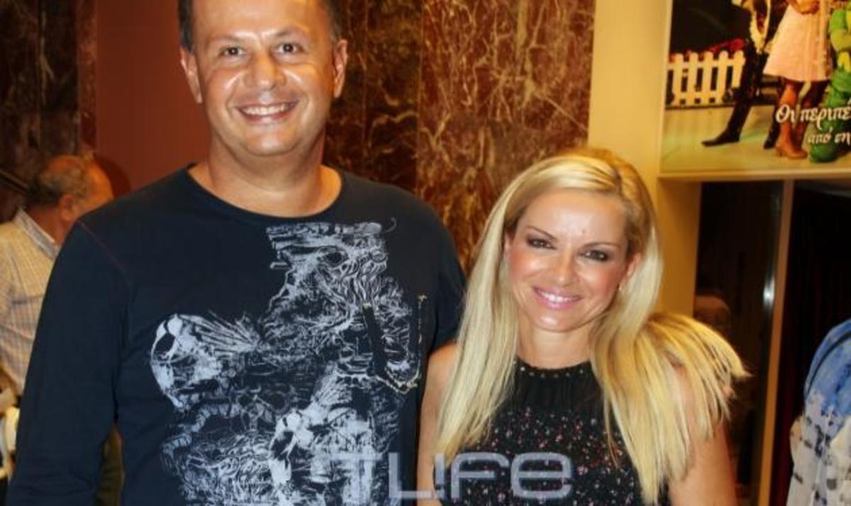 Μ. Μπεκατώρου: Βραδινή έξοδος με τον σύζυγό της! Φωτογραφίες | Newsit.gr