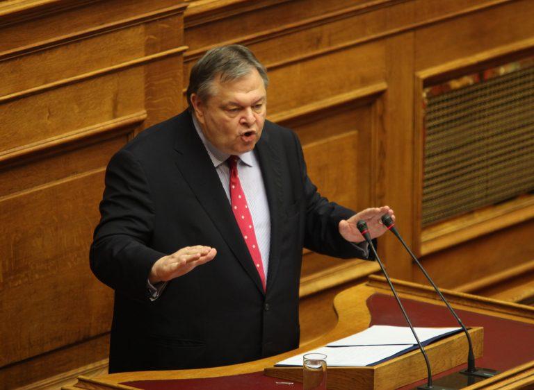 Προειδοποίηση Ε. Βενιζέλου: Εάν πάμε σε εκλογές είναι όλα στον αέρα   Newsit.gr