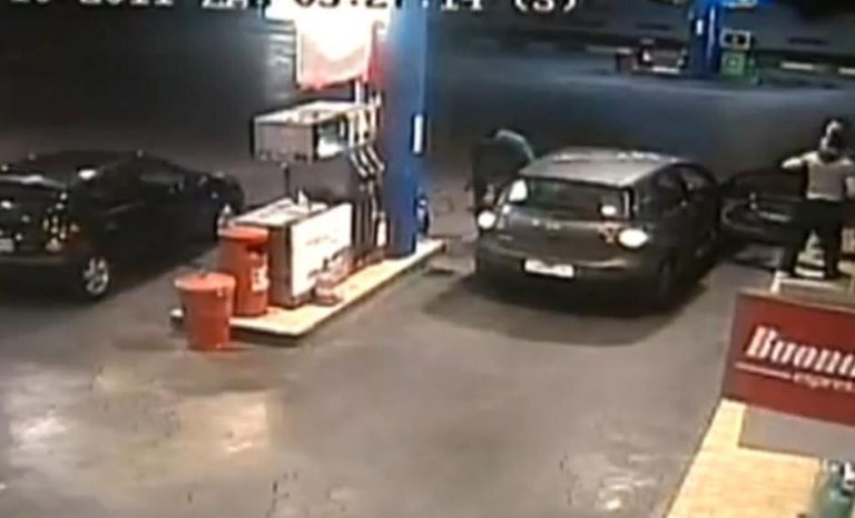 Θρασύτατη ληστεία σε βενζινάδικο- Δείτε βίντεο   Newsit.gr