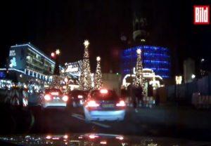 Επίθεση στο Βερολίνο: Το πρώτο βίντεο ντοκουμέντο! Η «τρελή» πορεία του φορτηγού