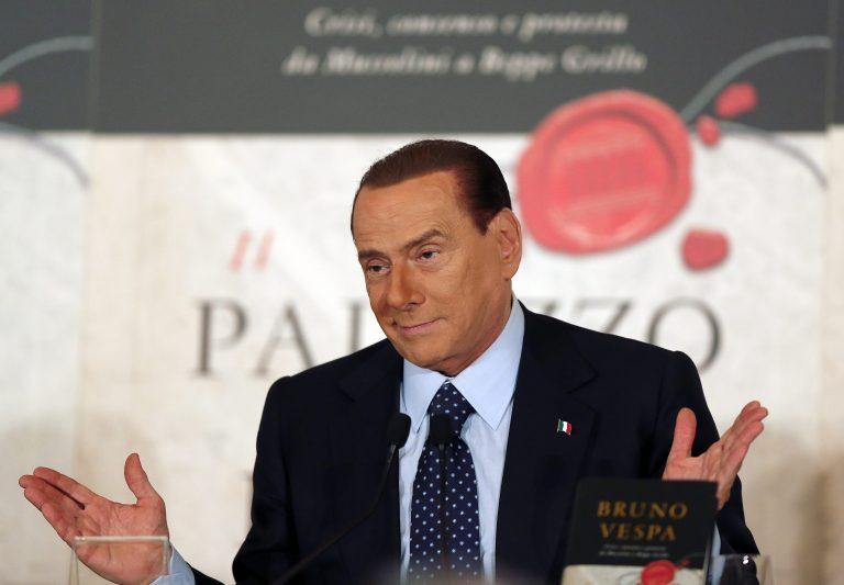 Ιταλία: Άνοδος του Μπερλουσκόνι, σύμφωνα με δημοσκόπηση | Newsit.gr