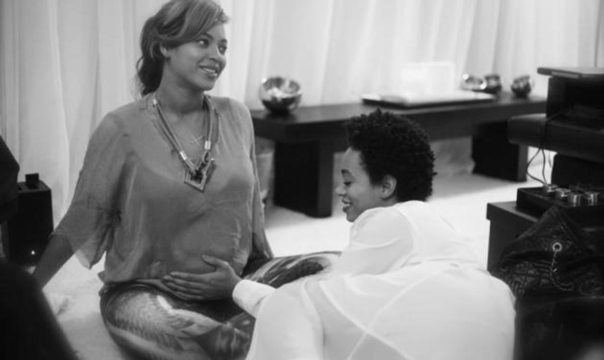 Aδημοσίευτες φωτογραφίες της Beyonce μέσα από το site της! | Newsit.gr