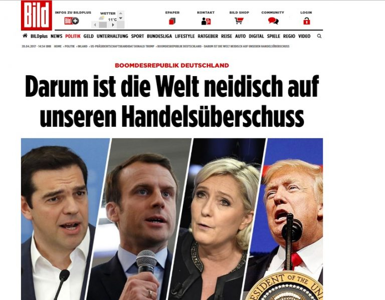 "Bild: Ο Τσίπρας στη ""συμμαχία"" εναντίον της γερμανικής οικονομίας | Newsit.gr"