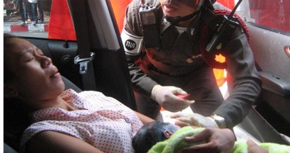Πρόστιμο για την γέννηση της κόρης του μέσα στο αυτοκίνητο | Newsit.gr