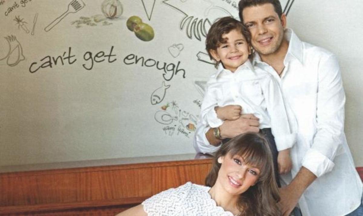Γ. Μπιθικώτσης: Φωτογραφίζεται για πρώτη φορά με την σύζυγό του και τον γιο του! | Newsit.gr