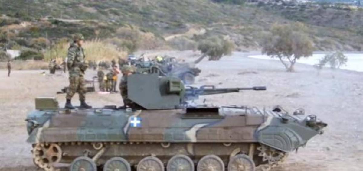 BMP 1 του Ελληνικού Στρατού σε άσκηση με πραγματικά πυρά [vid]   Newsit.gr