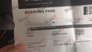 Τους γύρισαν πίσω! Πρόβλημα σε πτήση της Aegean για Παρίσι [pic]