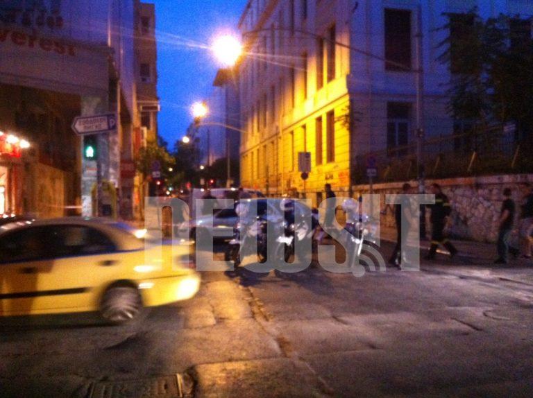 ΒΙΝΤΕΟ από την ελεγχόμενη έκρηξη αντικειμένου στη Χ. Τρικούπη | Newsit.gr