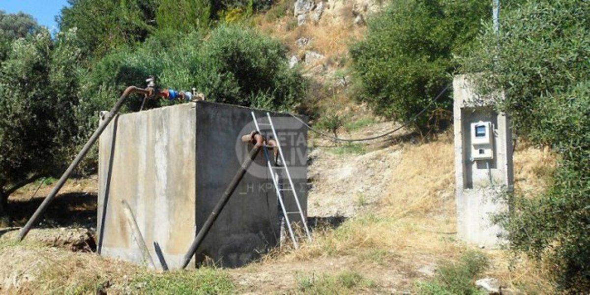Ηράκλειο: Έβαλαν βόμβα σε αντλιοστάσιο – Χωρίς νερό το Μορόνι! | Newsit.gr