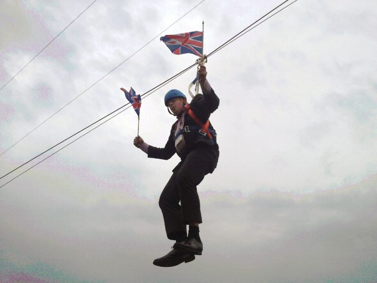 «Κόλλησε» το φερμουάρ έμεινε στον… αέρα ο δήμαρχος του Λονδίνου (VIDEO) | Newsit.gr
