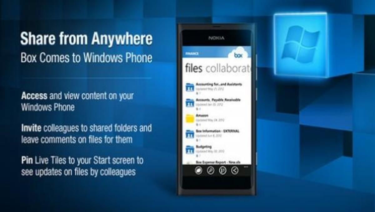 Διαθέσιμο το Box για Windows Phone!   Newsit.gr