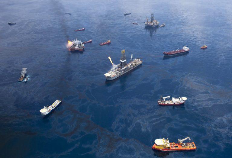 Επαναλειτούργησε το σύστημα περισυλλογής πετρελαίου της ΒΡ | Newsit.gr