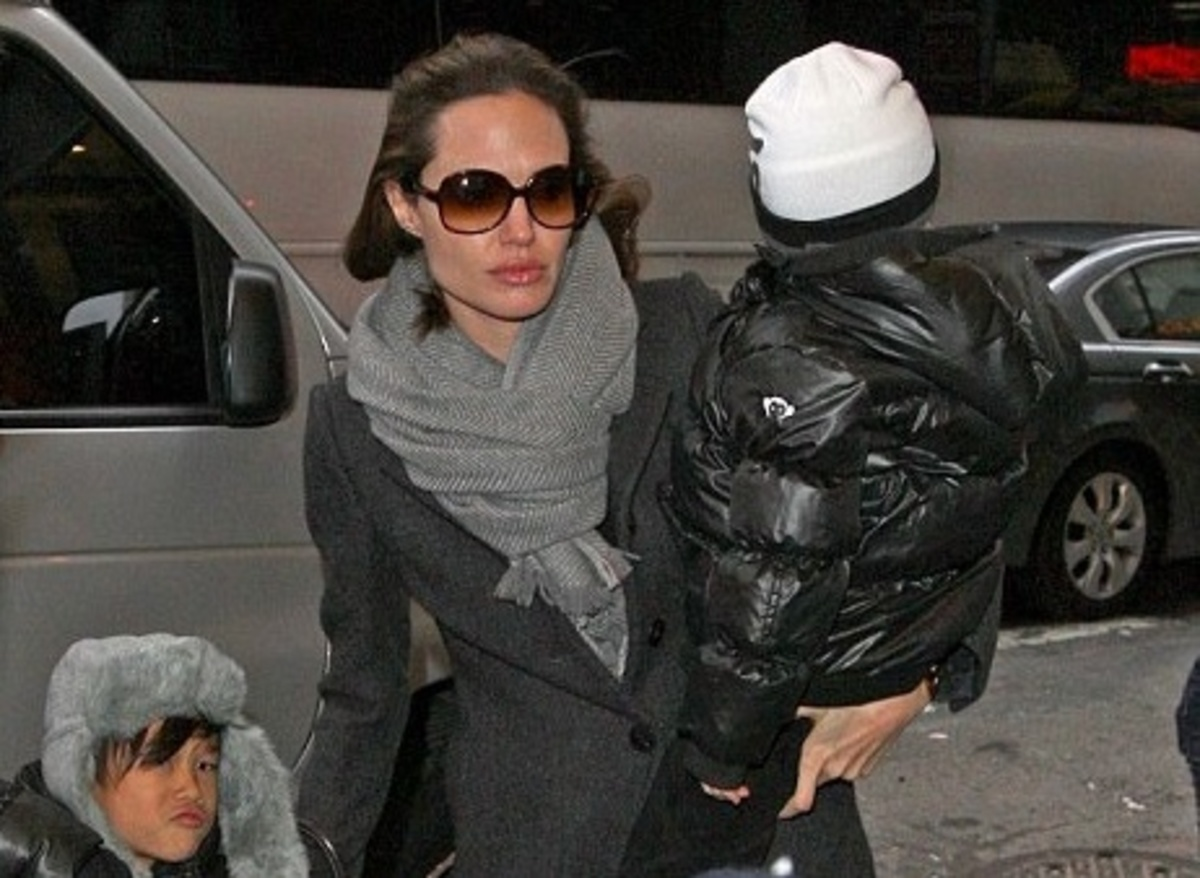 Brangelina:πήγαν στο θέατρο τα παιδιά τους! | Newsit.gr