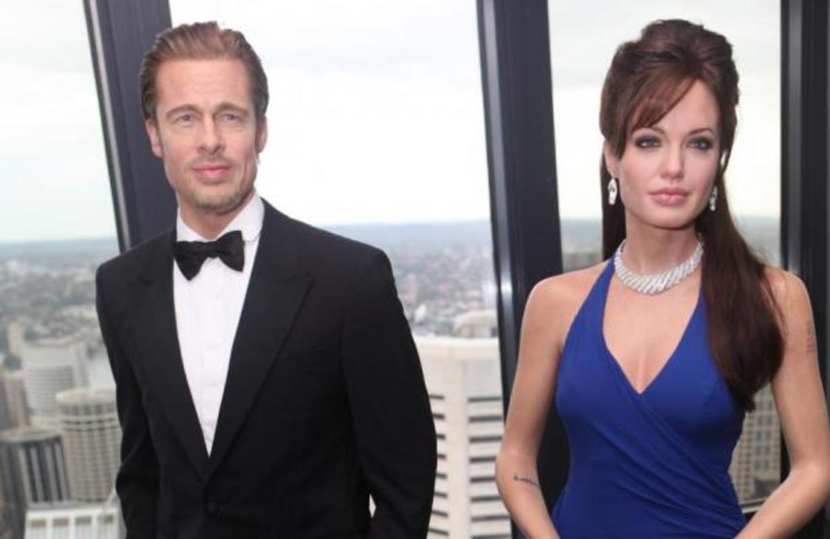 ΔΕΙΤΕ τα νέα κέρινα ομοιώματα του ζεύγους Pitt – Jolie! | Newsit.gr
