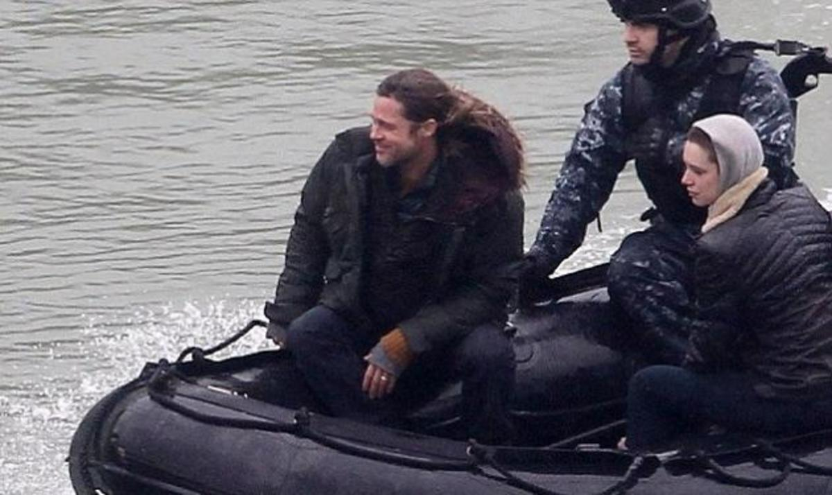 O Brad Pitt στα γυρίσματα της νέας του ταινίας Wolrd War Z! Δες photo! | Newsit.gr