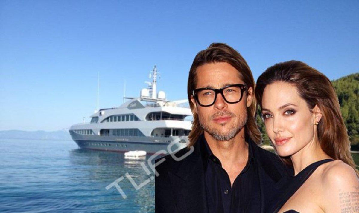 To TLIFE εντόπισε το σκάφος των Brangelina στη Χαλκιδική! | Newsit.gr