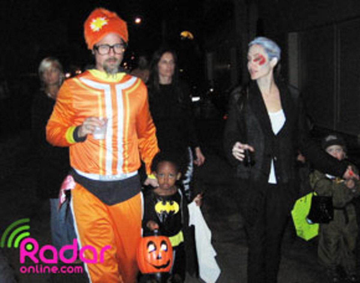 Το ζεύγος Brangelina γιόρτασε το Halloween | Newsit.gr