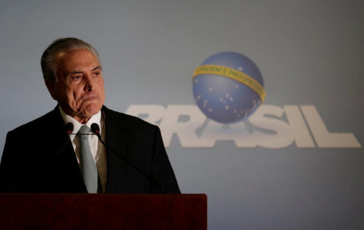 Ο Πρόεδρος της Βραζιλίας κατηγορείται για σκάνδαλο διαφθοράς   Newsit.gr