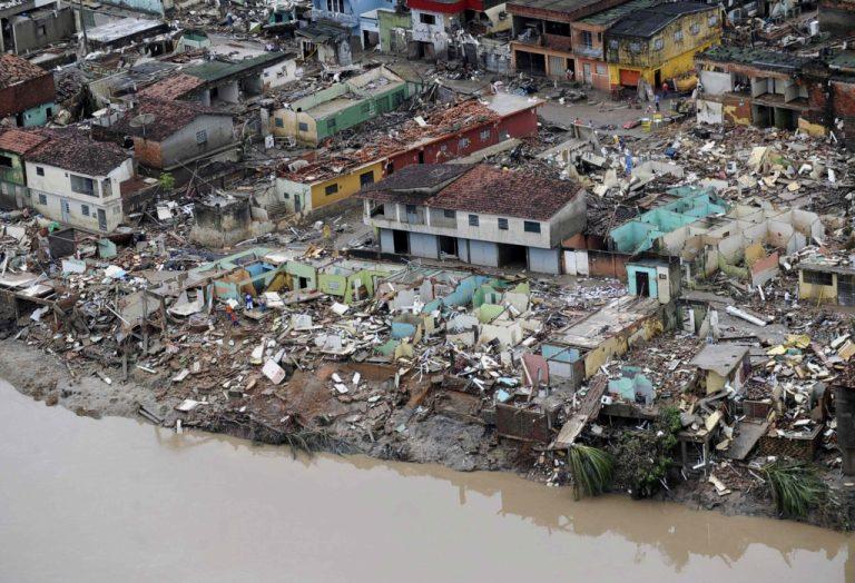 Τεράστιες καταστροφές στην Βραζιλία   Newsit.gr