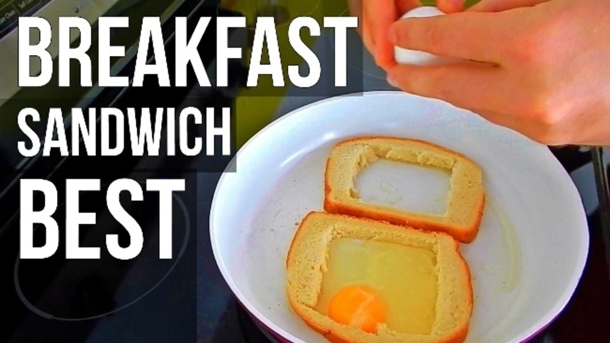 Κόβει ψωμί του τοστ σε τετραγωνάκια. Όταν δεις γιατί, θα τρέξεις να κάνεις το ίδιο! | Newsit.gr