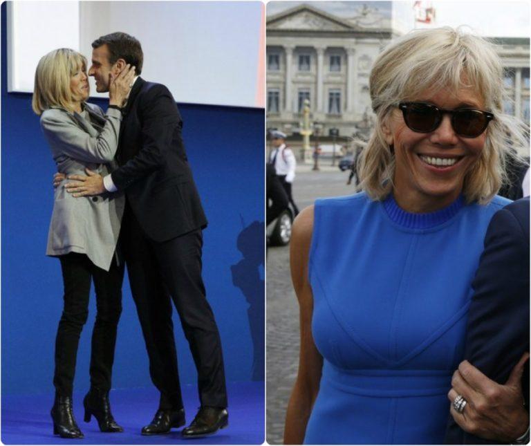 Τρέμε Μελάνια! Μπριζίτ Τρονιέ, γεννημένη Πρώτη Κυρία! Φωτογραφίες απαράμιλλου στυλ! | Newsit.gr