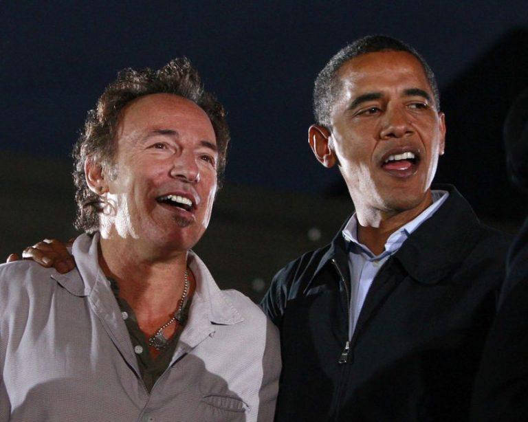 O Oμπάμα υποκλίθηκε…στο Bruce  Springsteen! | Newsit.gr