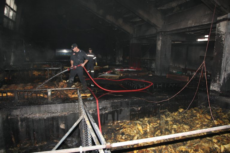 Σοβαρές ζημιές απο πυρκαγιά στο κλειστό γυμναστήριο του Βύρωνα | Newsit.gr