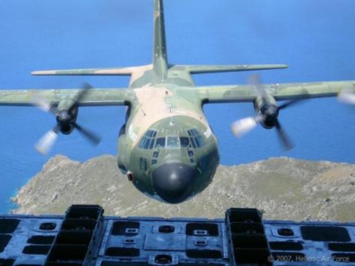 Πρόβλημα με C 130 της Σ. Αραβίας – Βλάβη στον κινητήρα, αναγκαστική προσγείωση   Newsit.gr