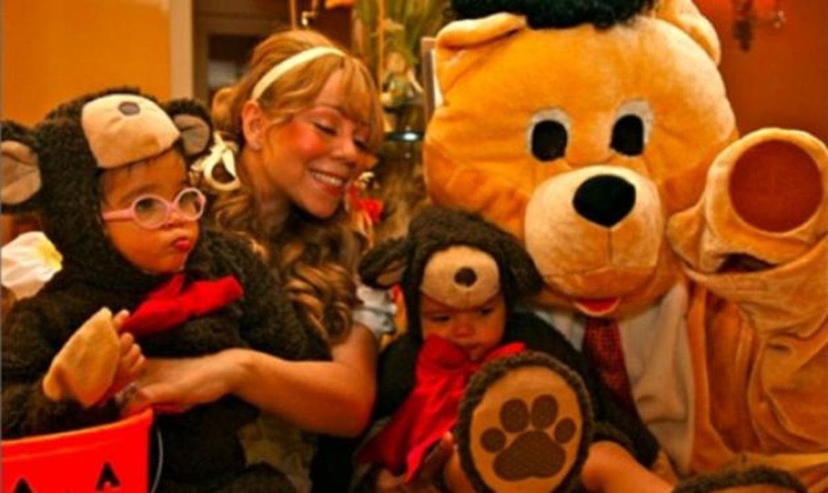 Μ. Carey: Έντυσε τα δίδυμα της… αρκουδάκια, για το Halloween!   Newsit.gr