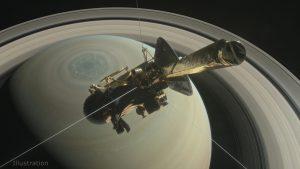 Cassini: Επιβίωσε από την πρώτη «βουτιά» ανάμεσα στον Κρόνο και στους δακτυλίους του! [pic]