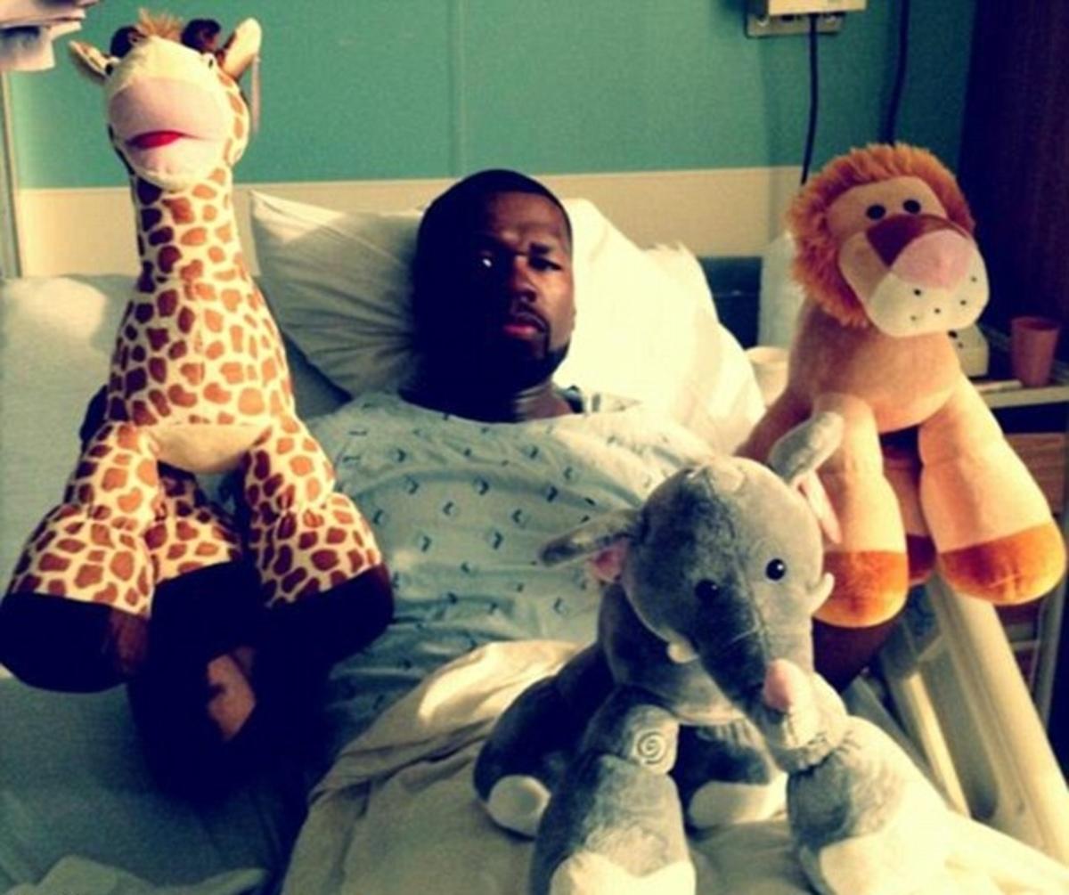Στο νοσοκομείο ο 50Cent μαζί με τα… αρκουδάκια του! | Newsit.gr