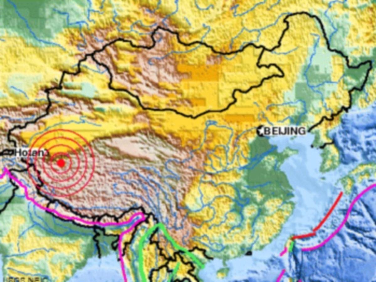 Σεισμός 6,3 Ρίχτερ στα σύνορα Κίνας – Θιβέτ   Newsit.gr