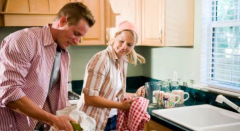 Κάντε δουλειές στο σπίτι για να μην… χωρίσετε!   Newsit.gr