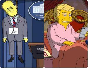 """Simpsons """"διαλύουν"""" Τραμπ για τις 100 πρώτες ημέρες του! [vid]"""