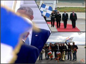 Ομπάμα: Όλα του… Μπάρακ δύσκολα! Καψώνια, «μαγικό χαλί», «αόρατος» Καμμένος! [vids, pics]