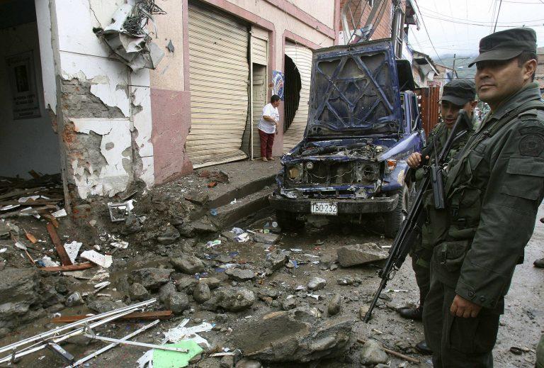 Κολομβιανοί στρατιώτες νεκροί από πυρά ανταρτών   Newsit.gr