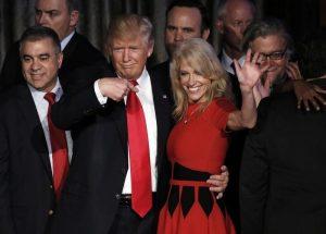 Στήριξε Τραμπ και… ανταμοίβεται η εντυπωσιακή Κελιάν Κόνγουεϊ [pics]