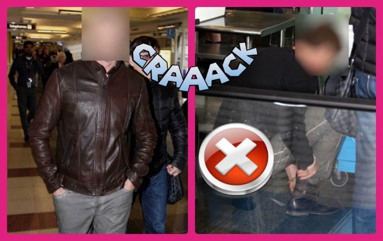 Το αποκαλυπτικό ατύχημα γοητευτικού ηθοποιού στο αεροδρόμιο! | Newsit.gr