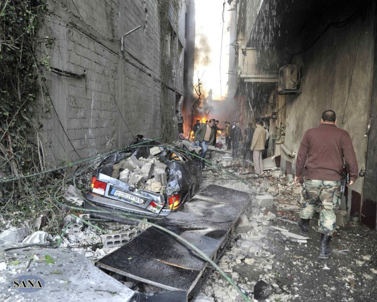 Λουτρό αίματος στη Δαμασκό, 34 νεκροί σε βομβιστική επίθεση (ΦΩΤΟ)   Newsit.gr