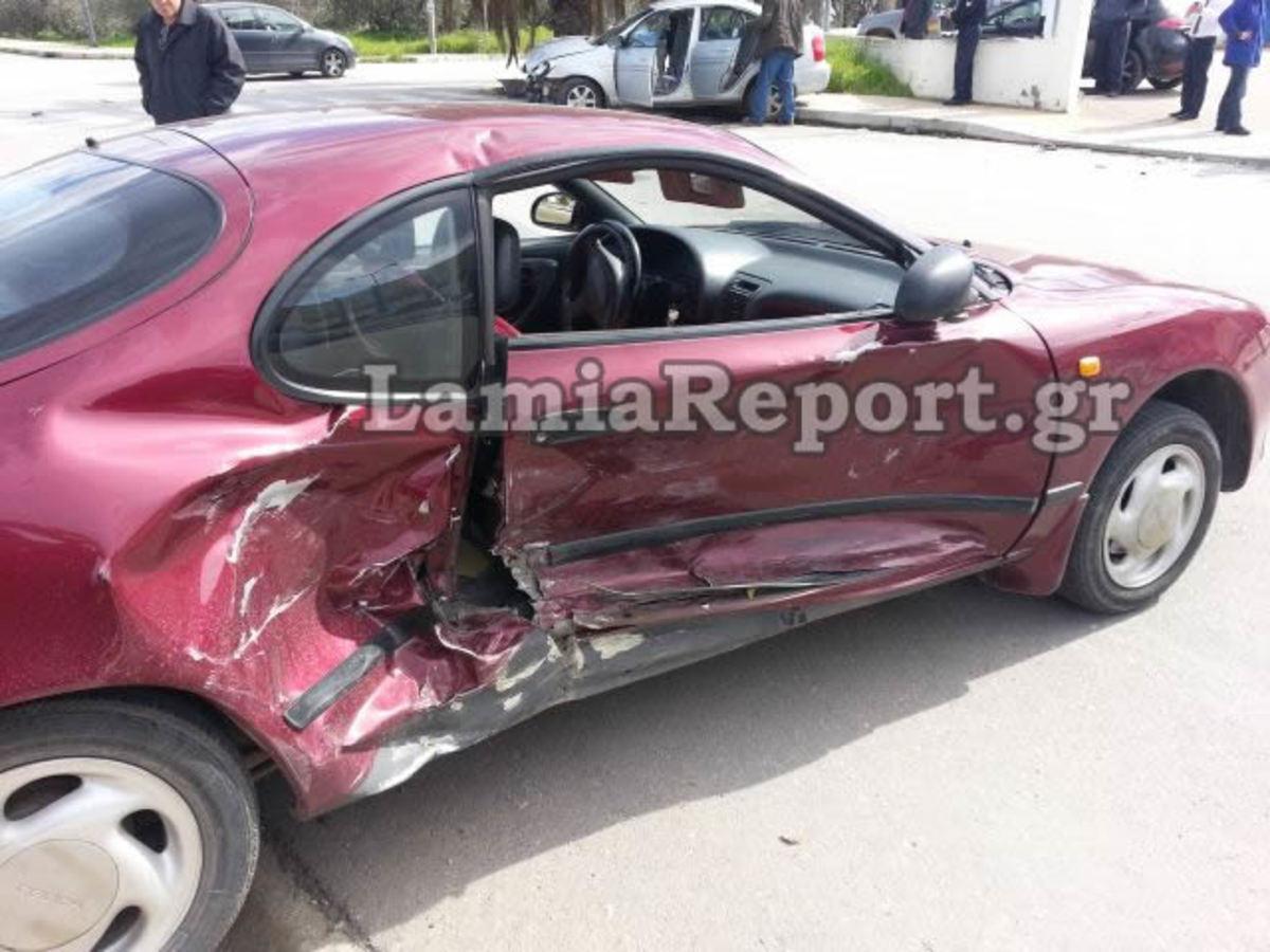 Λαμία: Τραυματίστηκε δασκάλα σε διασταύρωση καρμανιόλα – ΦΩΤΟ | Newsit.gr
