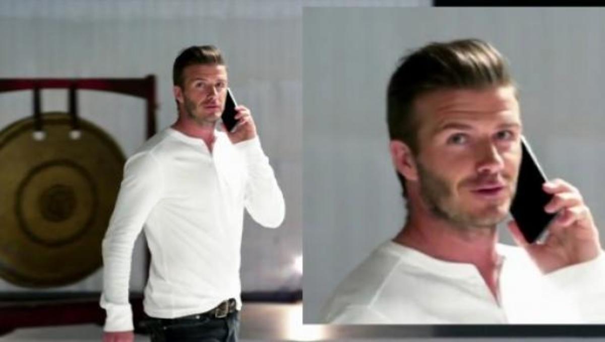 Δείτε τον David Beckham να διαφημίζει το Galaxy Note! | Newsit.gr