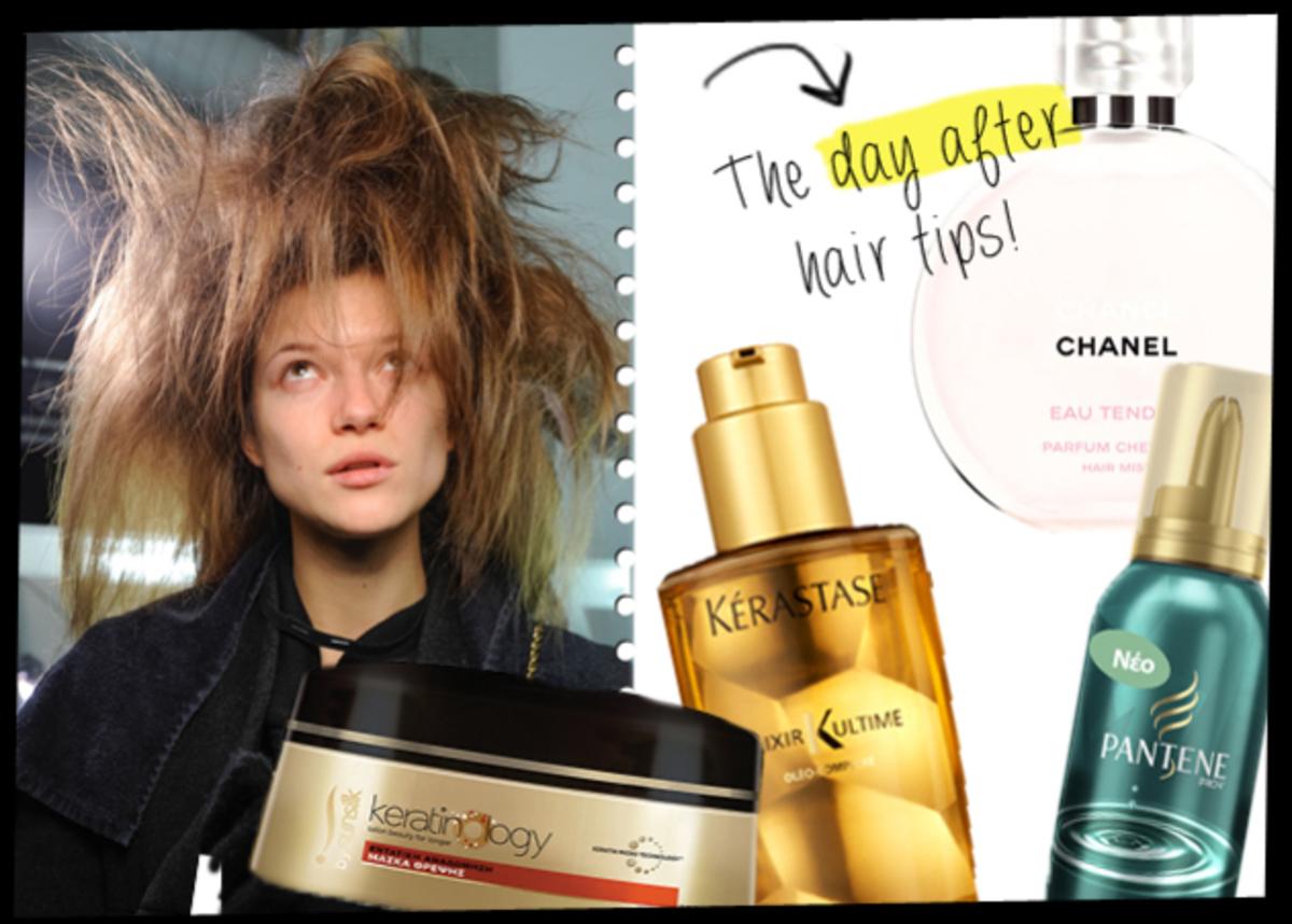 4 tips για να σώσεις τα μαλλιά σου από το χτένισμα του Σαββάτου! | Newsit.gr