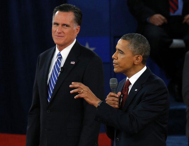Έγινε της… Ελλάδας στο δεύτερο debate Ομπάμα-Ρόμνεϊ (VIDEO)   Newsit.gr