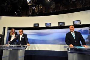 Debate πολιτικών αρχηγών – Μεϊμαράκης σε Τσίπρα: Δεν είστε ωρομίσθιος, μας ζαλίσατε με τις 17 ώρες»