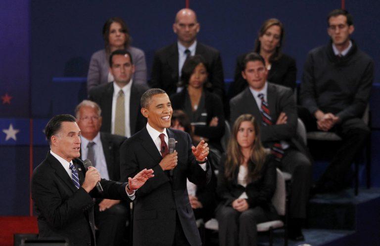 Όσα δεν είπαν και δεν έδειξαν οι κάμερες στο debate Ομπάμα-Ρόμνεϊ (ΦΩΤΟ) | Newsit.gr