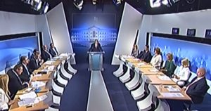 Debate πολιτικών αρχηγών – Επεισόδιο Αλέξη Τσίπρα με Όλγα Τρέμη – ΒΙΝΤΕΟ