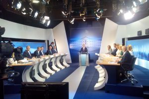 Debate πολιτικών αρχηγών – Όλοι κατά των κανόνων που οι ίδιοι συμφώνησαν