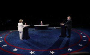Debate Χίλαρι Κλίντον – Ντόναλντ Τραμπ: Υψηλή τηλεθέαση, αλλά…