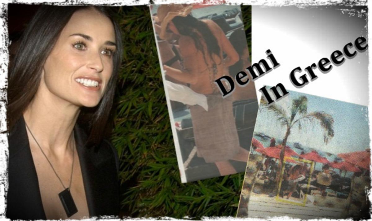 Busted! Η Demi Moore πιάστηκε από το φωτογραφικό φακό στην Ελλάδα… | Newsit.gr